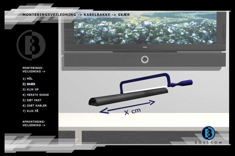 """Bosscom - 3D Production """"Skær"""" Page"""