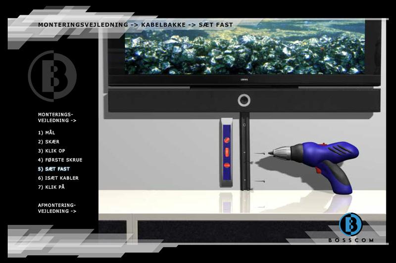 """Bosscom - 3D Production """"Sæt Fast"""" Page"""