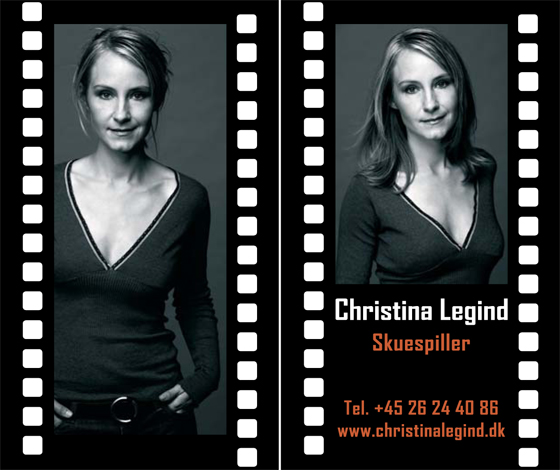Christina Legind - Business Card