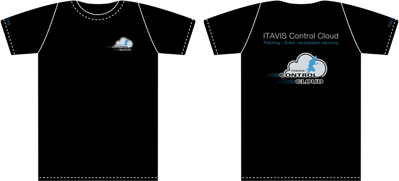 Itavis Control Cloud - T-Shirt Design