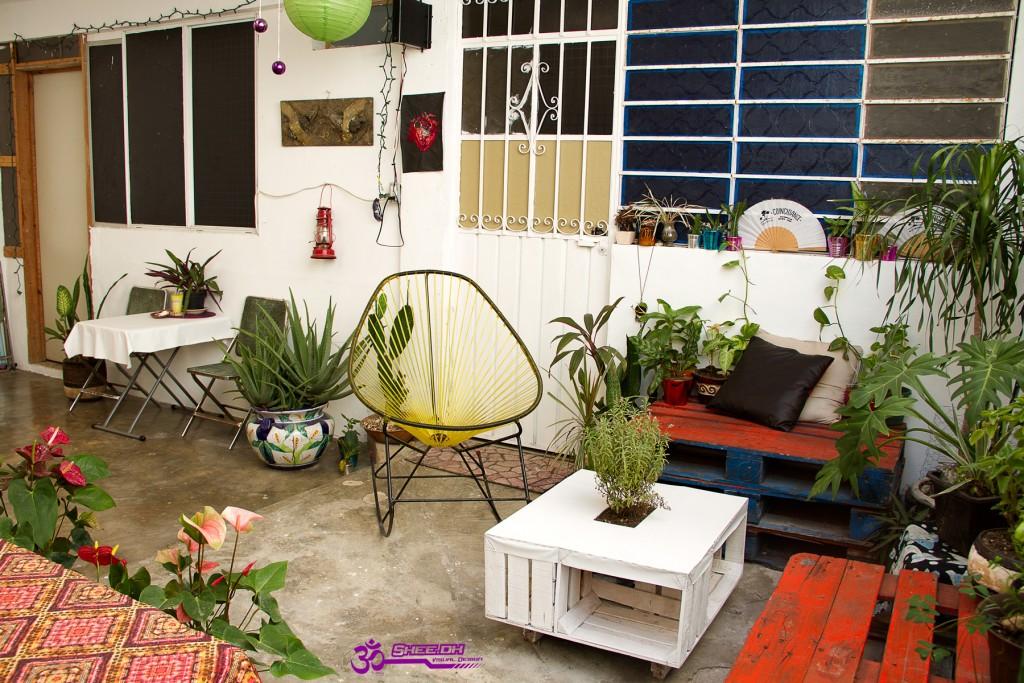 Om Posada - The Terrace