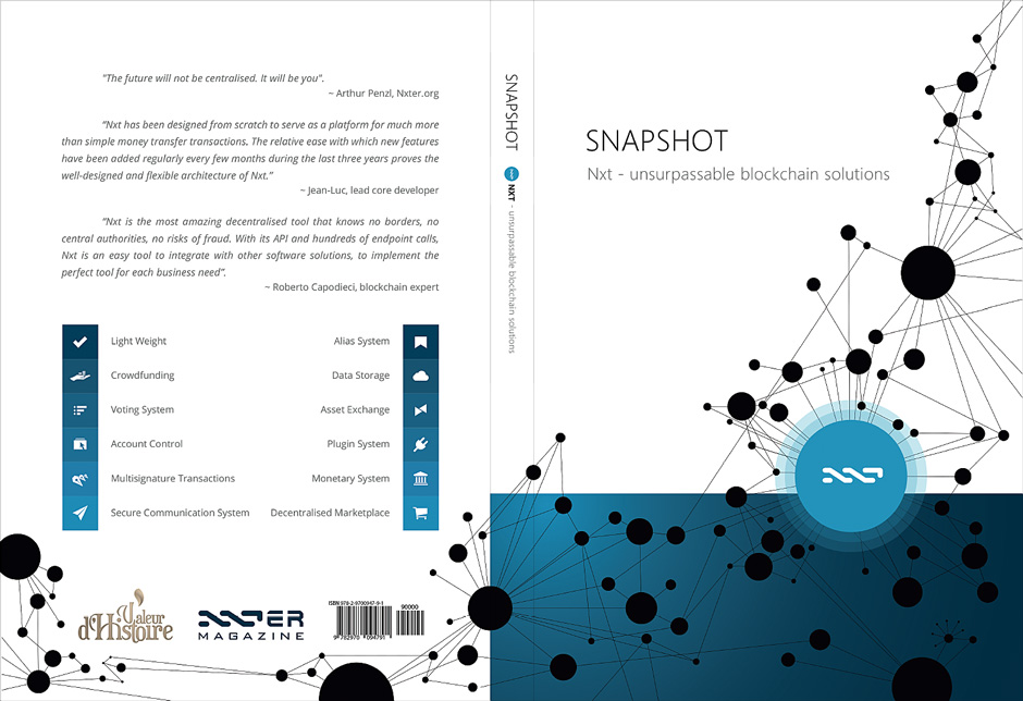 NXT - Book Cover & Layout