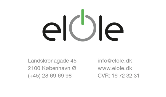 elOle - Business Card Design