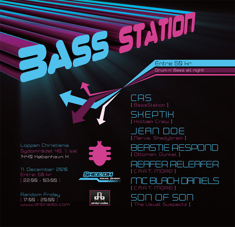 BassStation - Flyer 01