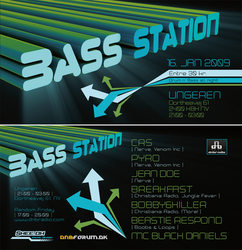 BassStation - Flyer 03