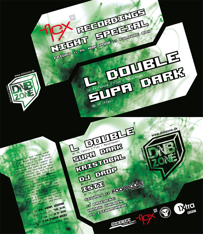 DNBZone L Double - Flyer