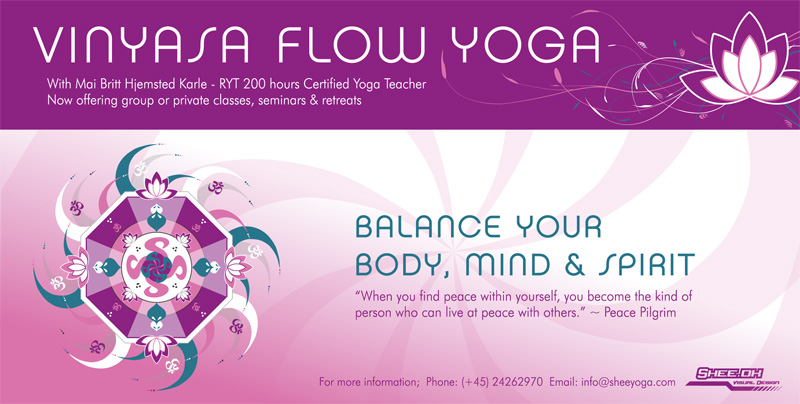 Vinyasa Flow Yoga - Flyer