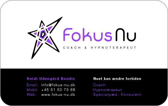 Fokus Nu - Business Card