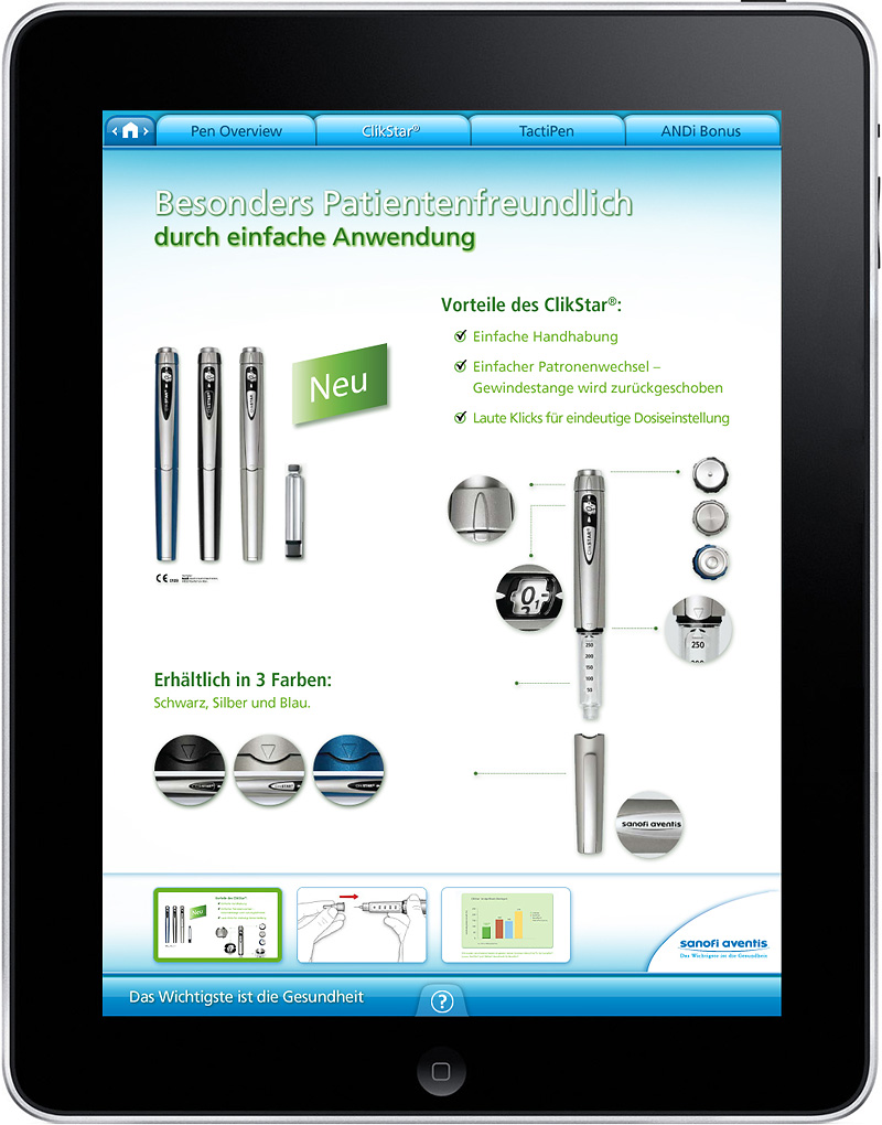 iPad Application - Interface Design