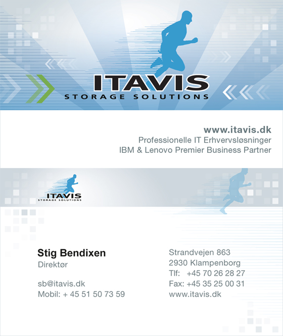 Itavis Storage Solutions - Business Card