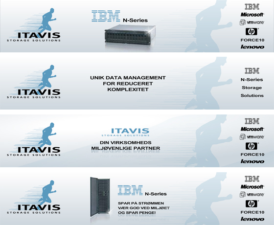 Itavis Storage Solutions - Flash Banners