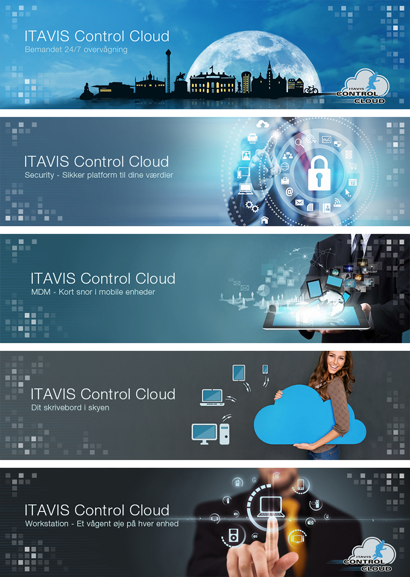 Itavis Control Cloud - Brand Feature Banner Design
