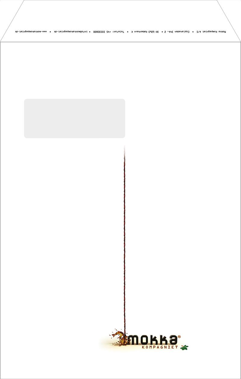 Mokka Kompagniet - Envelope Design