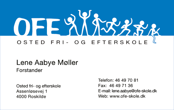 Osted Fri- og Efterskole -  Business Card