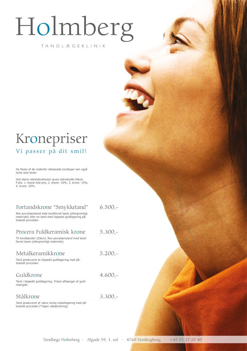 Holmberg Tandlægeklinik - Poster