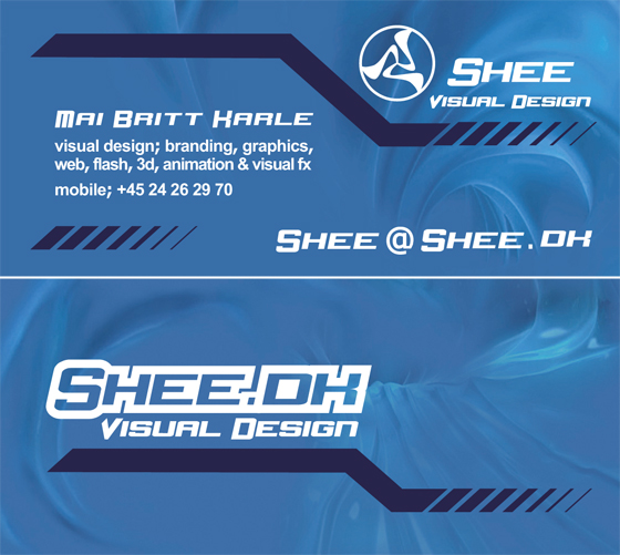 Shee Visual Design - Business Card
