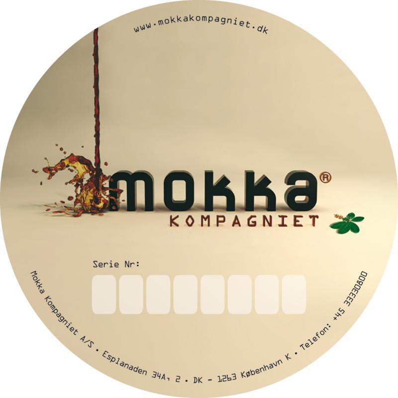 Mokka Kompagniet - Sticker
