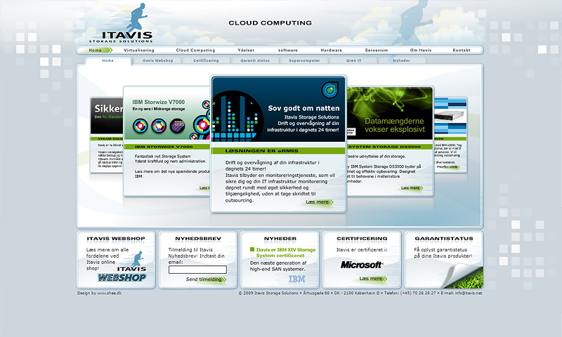 Itavis Storage Solutions - Flash Web Design