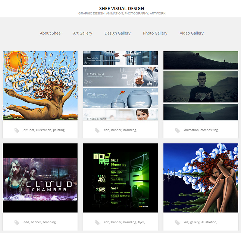 Shee Visual Design - WordPress Web Design